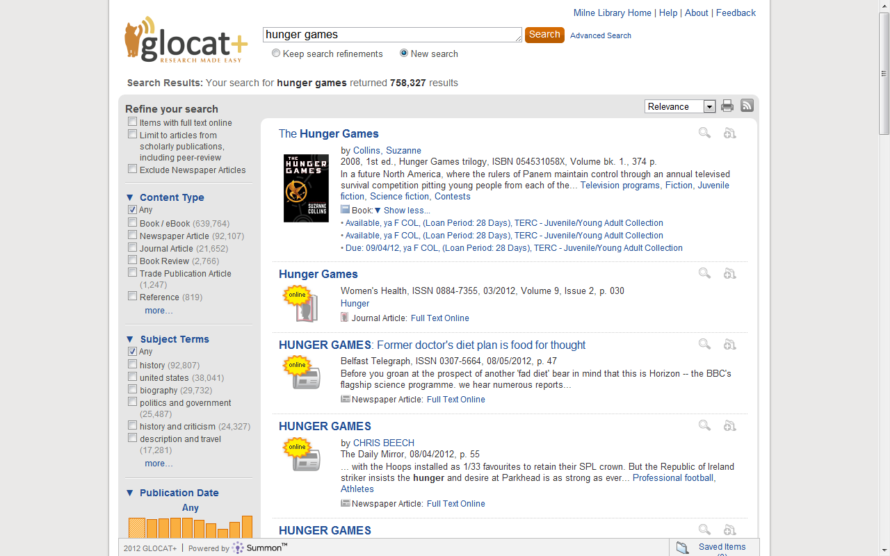 GLOCAT+ Example