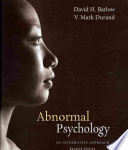 Abnormal Psychology (Barlow, 7th)