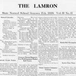 SUNY Geneseo Lamron 1919