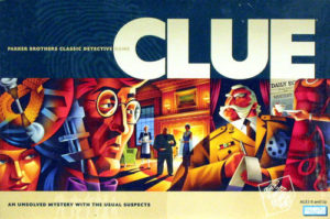 "Image of the box for the game ""Clue"""