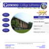 Milne Library Website, March 2001