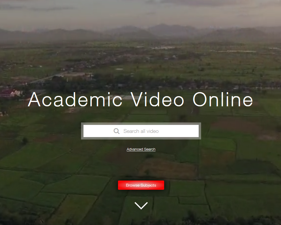 Academic Video Online - available at Milne Library