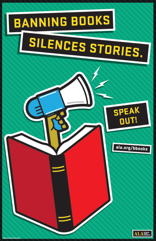 Banned books silences stories