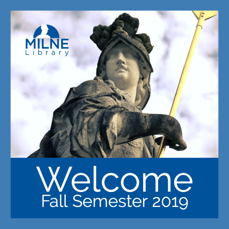 Welcome to Milne Library SUNY Geneseo