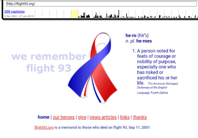 flight93.org via archive.org