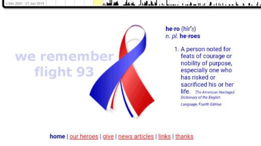 Flight 93 org 9-11 via archive.org
