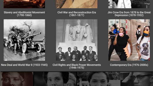 Black Freedom Struggle website collection