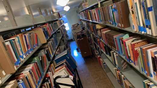 Fraser Hall Library Collections Stacks